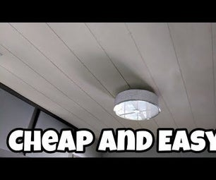 How to Make Shiplap for a Ceiling