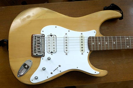Dismantle Guitar for Painting
