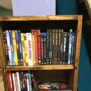 LED DVD and Blu-ray Shelf
