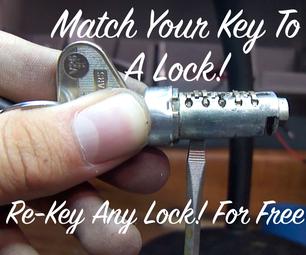 Re-Key Classic VW Locks