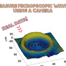 Measure Microscopic Surface Deformations (waves!) Using a Camera (PIV)