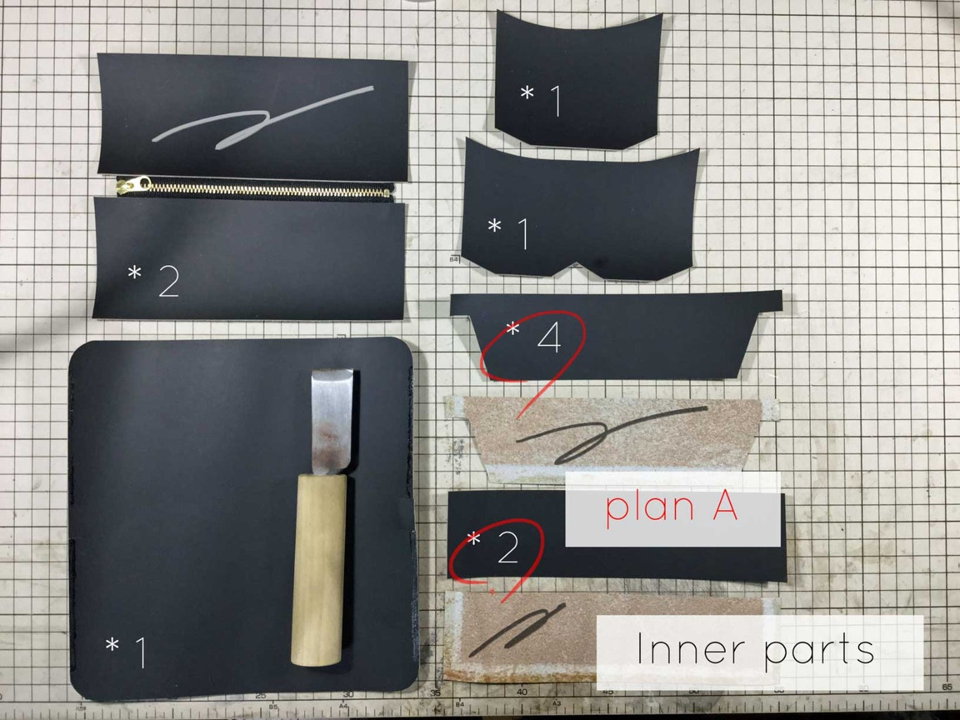 Pattern and Parts List