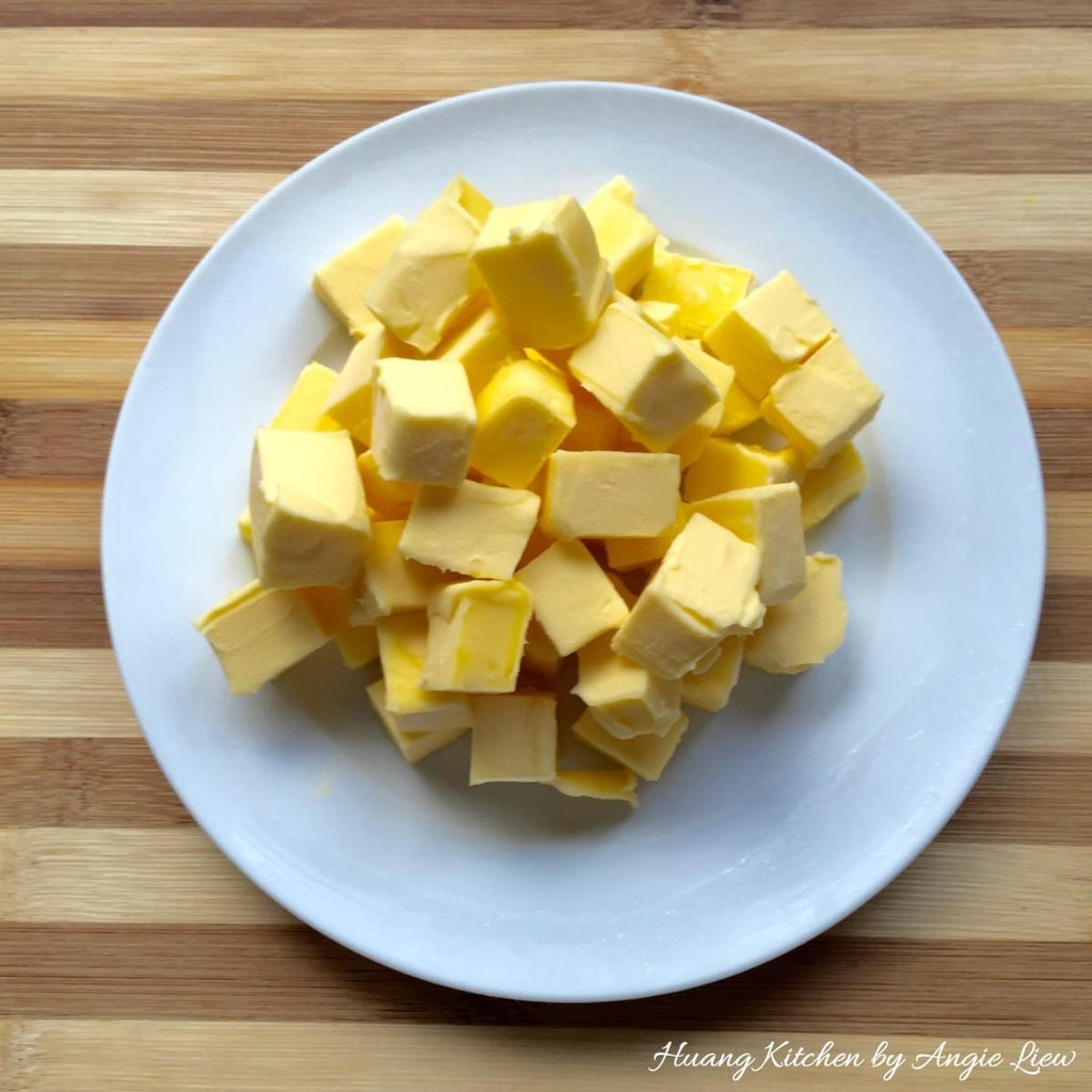 Cut Cold Butter Into Cubes.