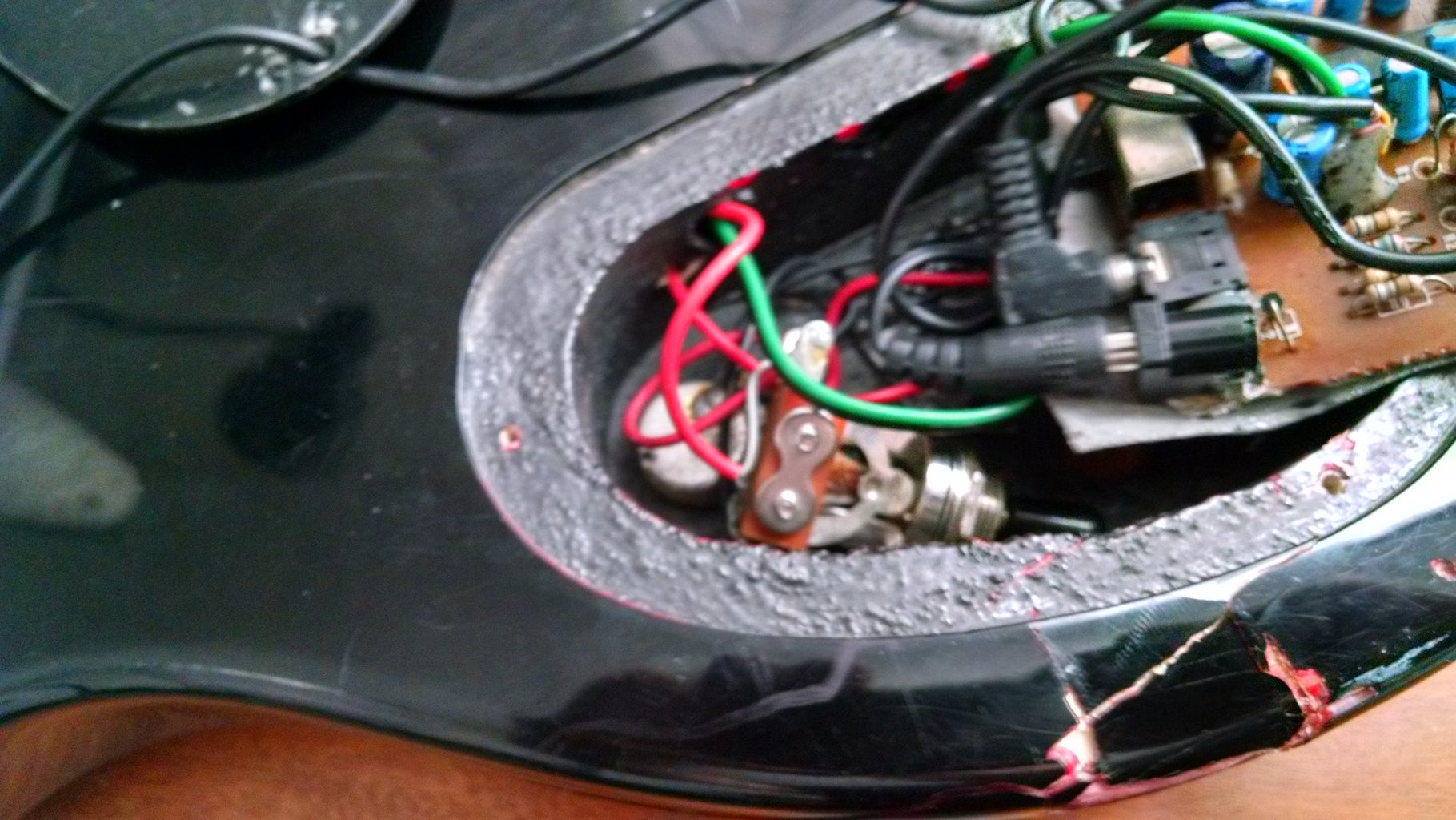 Mounting the Other Speaker