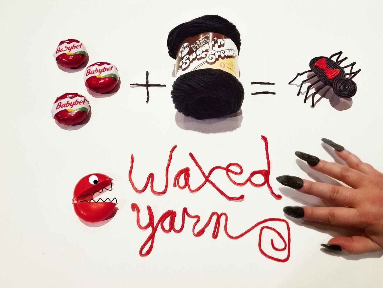 Creating With the Waxed Yarn