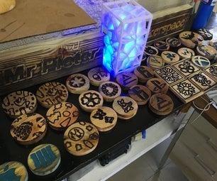 CNC Coasters Project