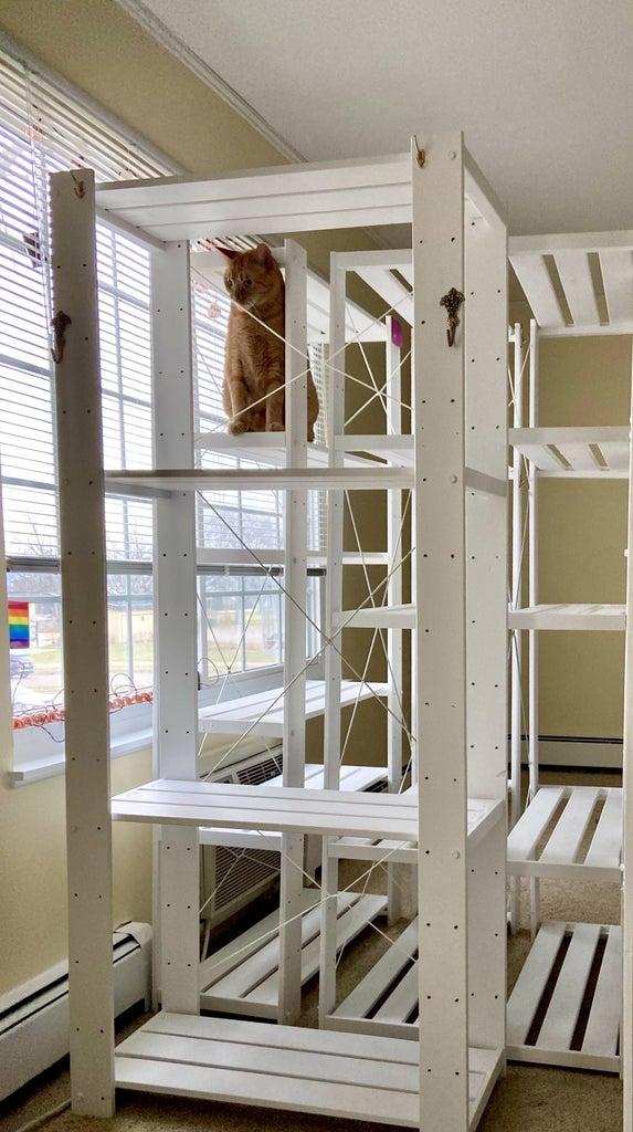 Fixing Wobbly Shelves