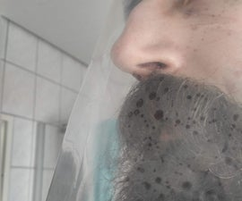 Experimental Face Shield Against Droplets