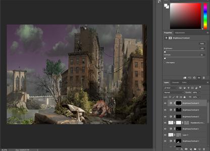 Wasteland Photoshop