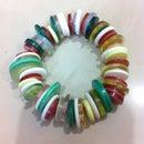 Button Necklace And Bracelet