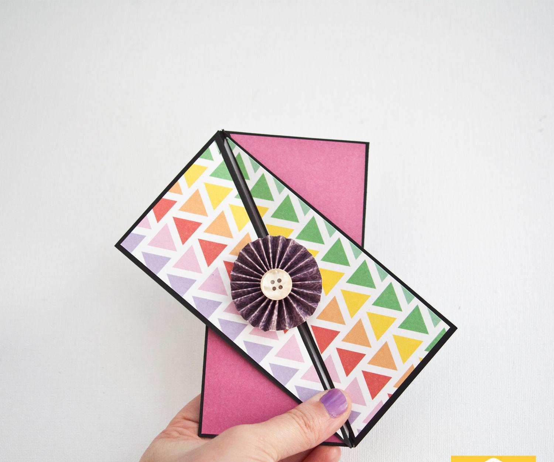 Twisted Gate-fold Card
