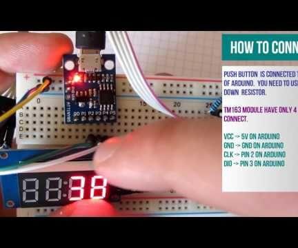 Arduino Push Button Counter