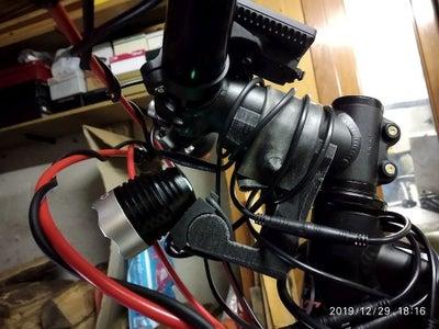 E-Bike Headlight Mounting Bracket