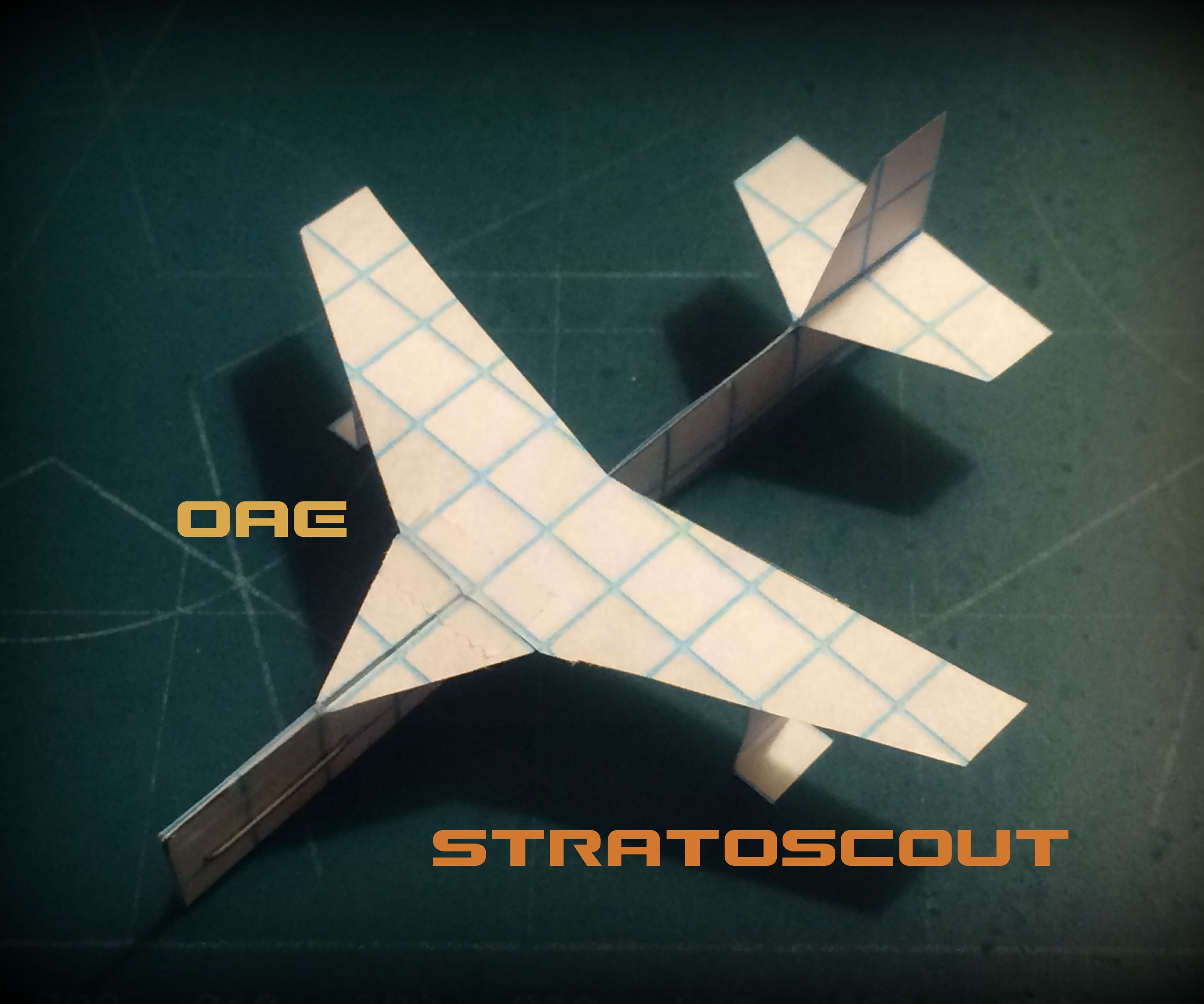 How To Make The StratoScout Paper Airplane