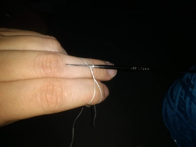 Step 2) Creating a Magic Ring (Crochet)