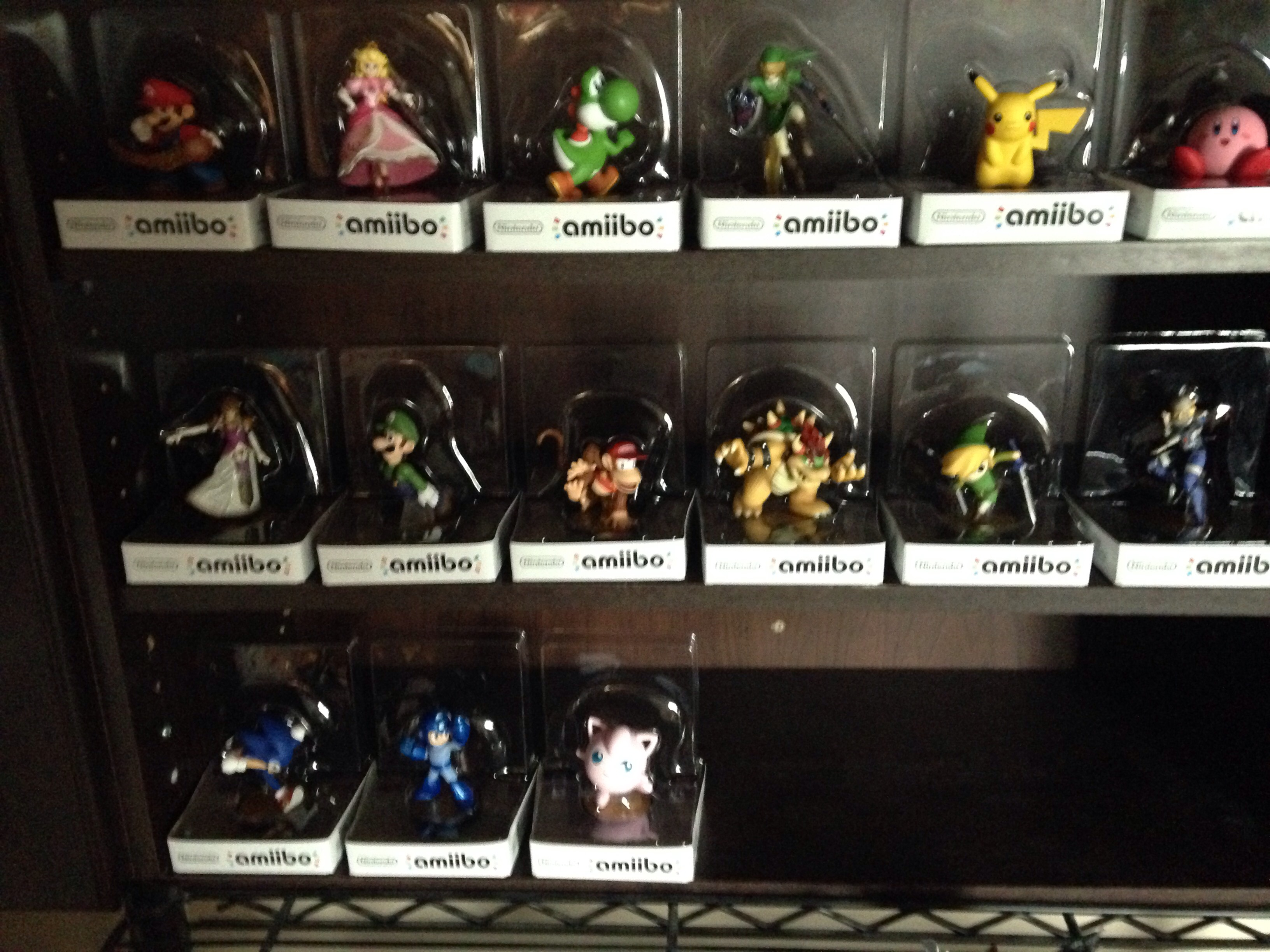 Amiibo Display For $0.00