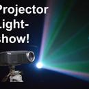 Video Projector Lightshow!
