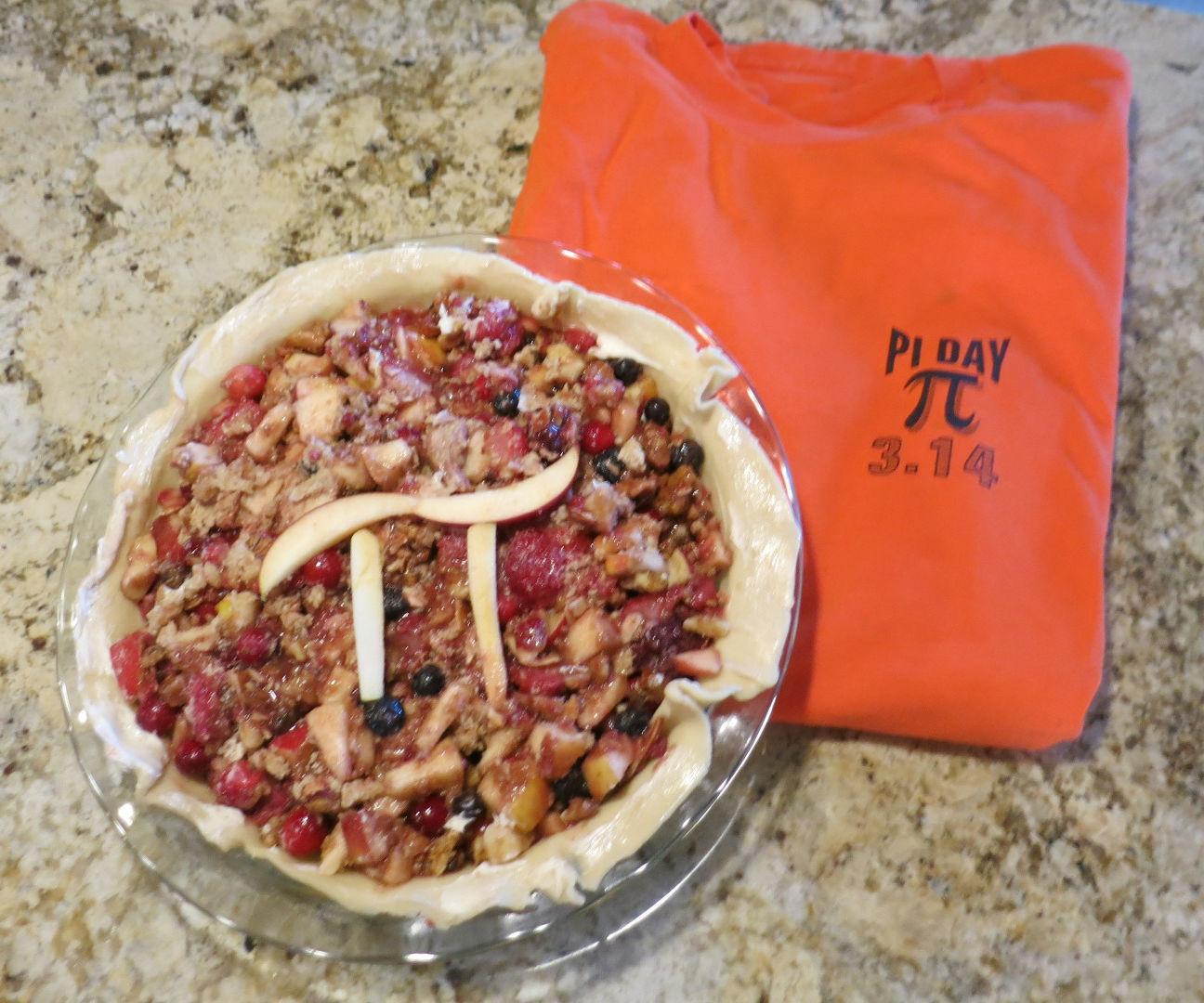 """Pi's """"Pi Day"""" Pie"""