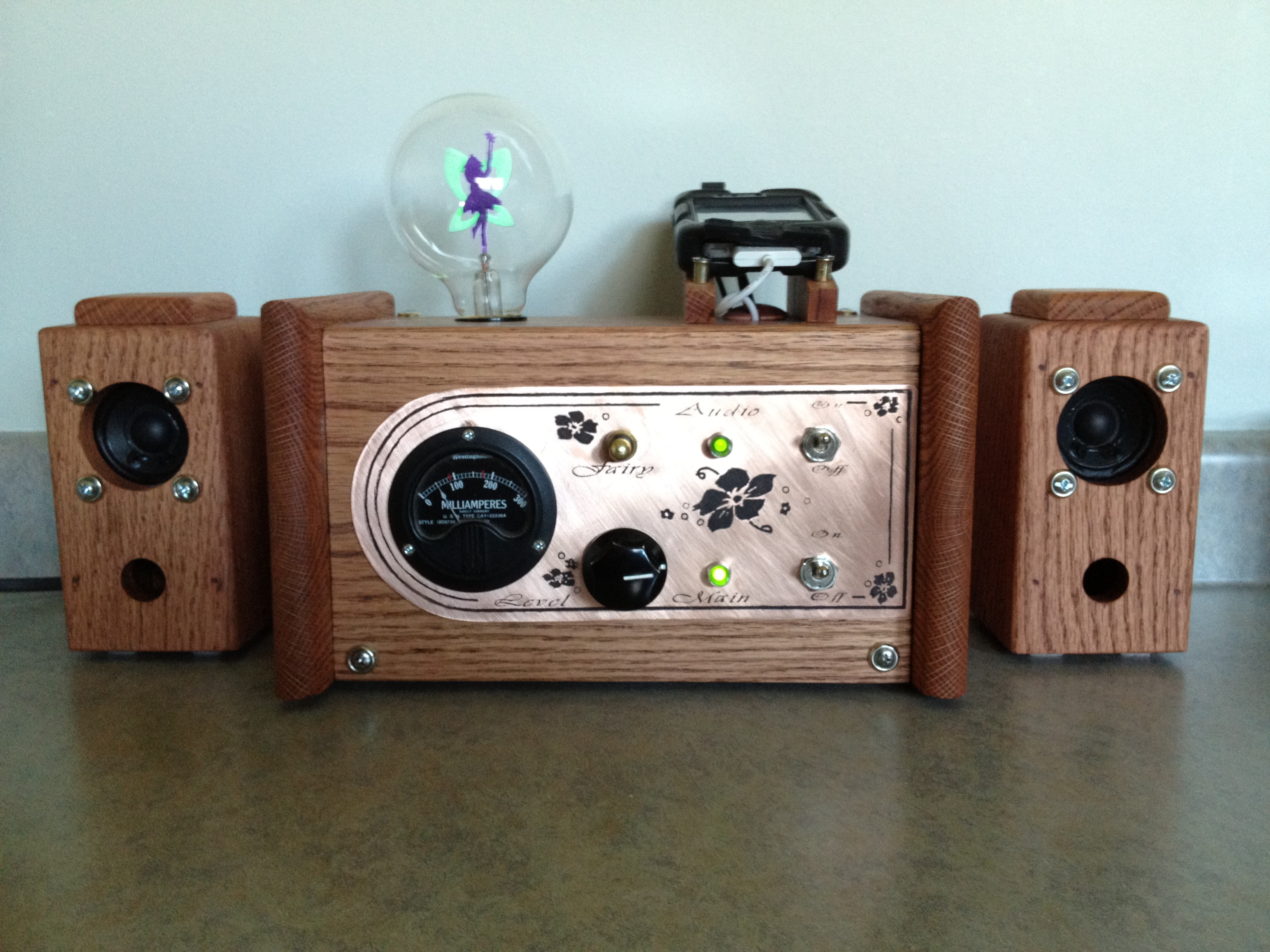 Steampunk iPhone Station