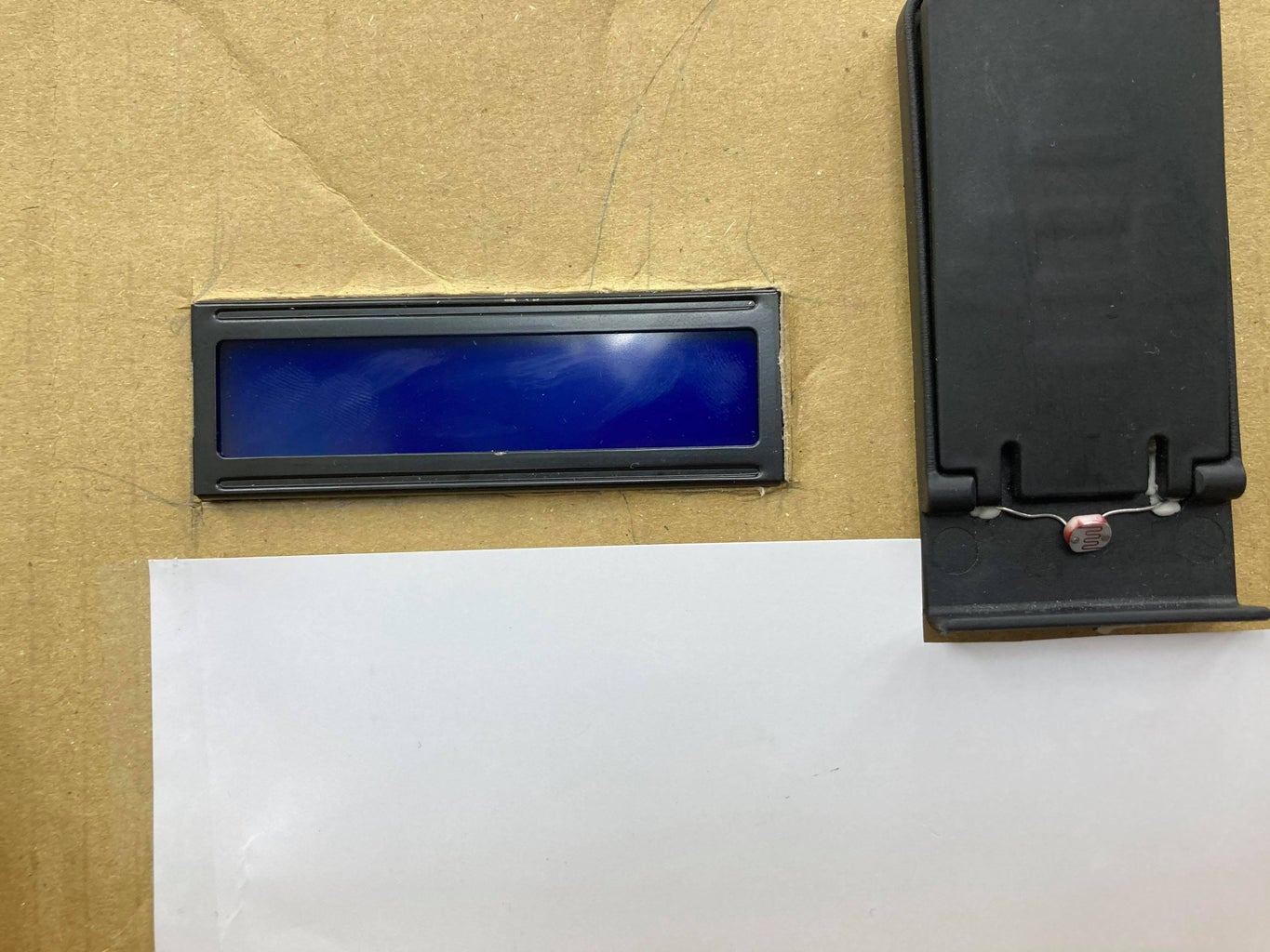  Install the LCD Panel on the Paper Tray