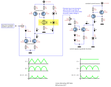 Schematic4 - Alternating LED Fader by Combining Both Circuits