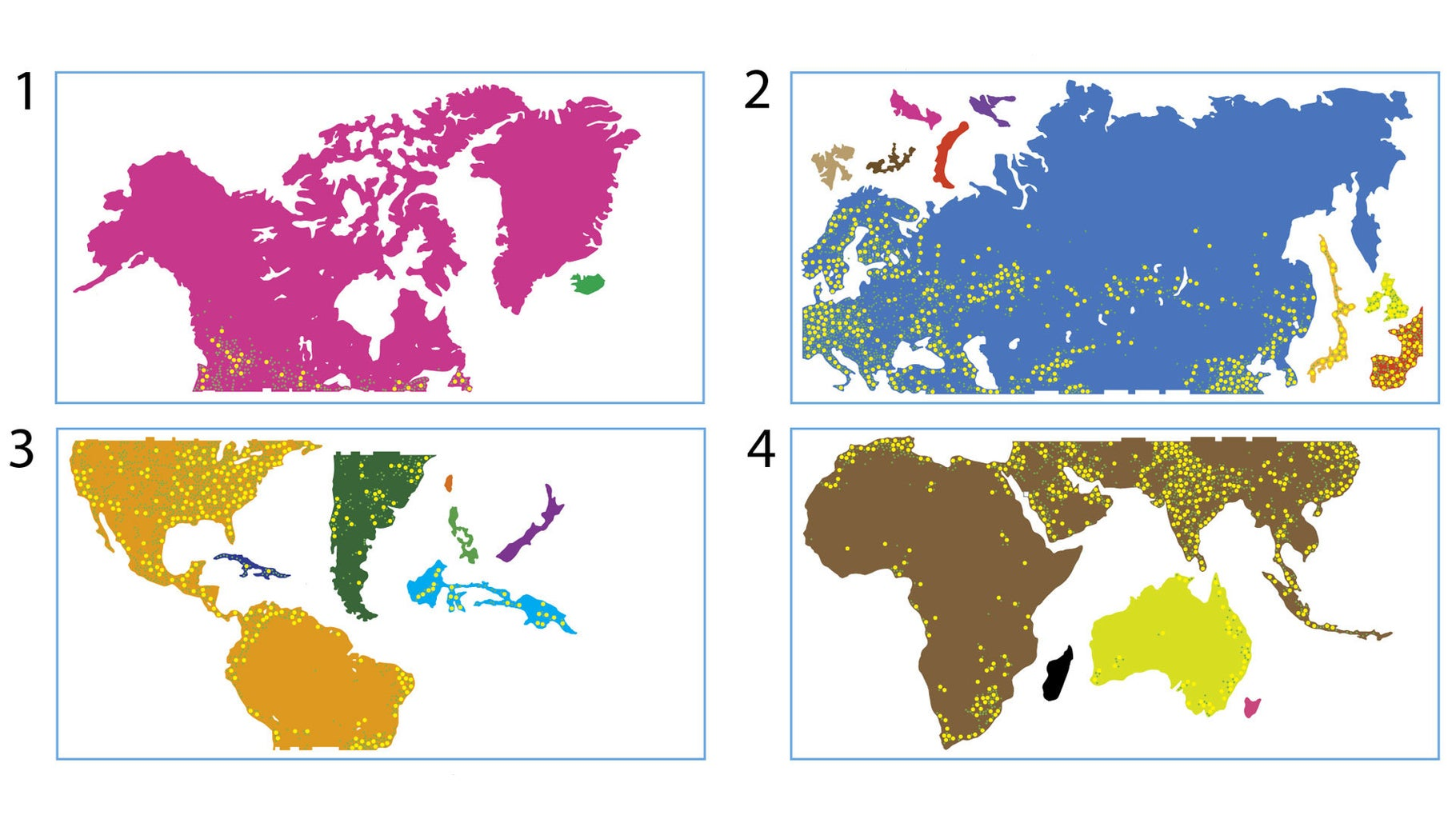 Choosing a Map Projection & Preparing for Cutting