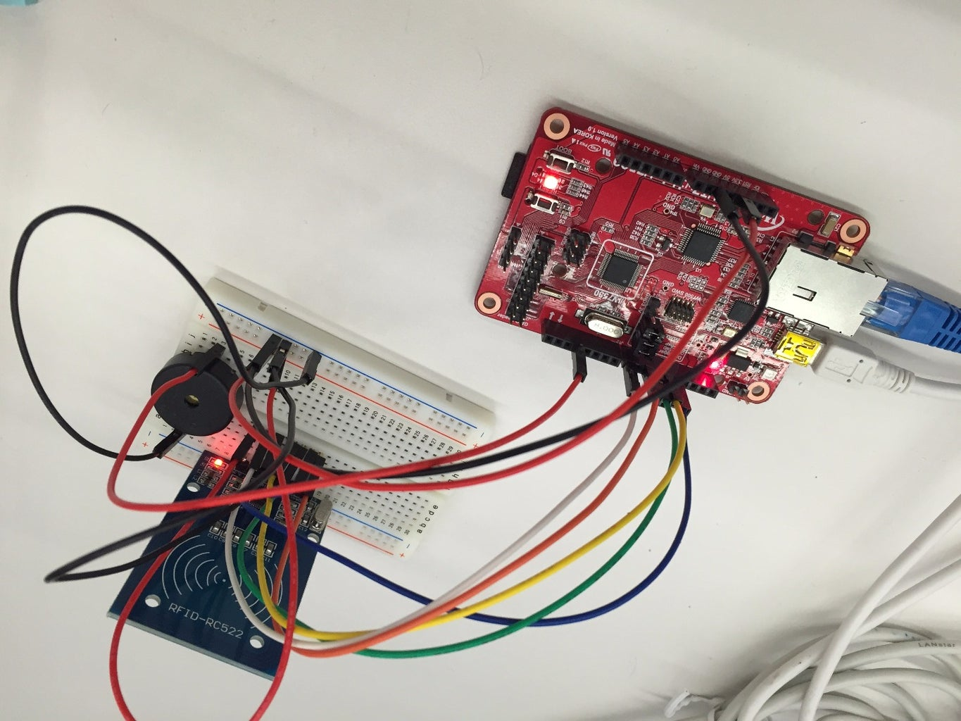 [Home Automation] Version 2 : Check the RFID Tag to Using Simple Web Server.