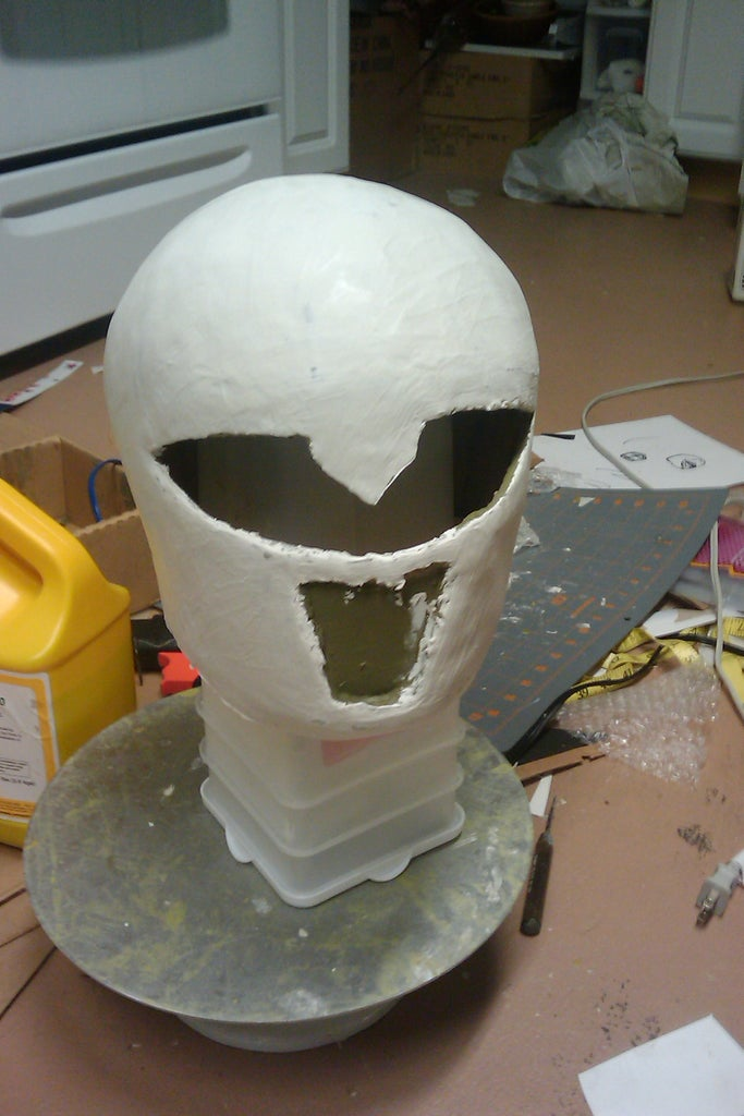 Refining With Paper Mache Pulp
