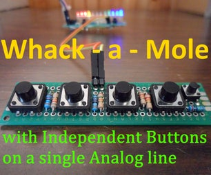 4 Button Games Using One Analog Input