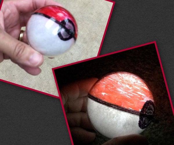 Light-Up LED Pokeball