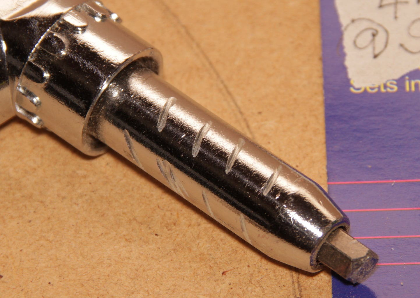 Drill Hole in Handle