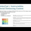 TinkerCad Social Distancing Challenge