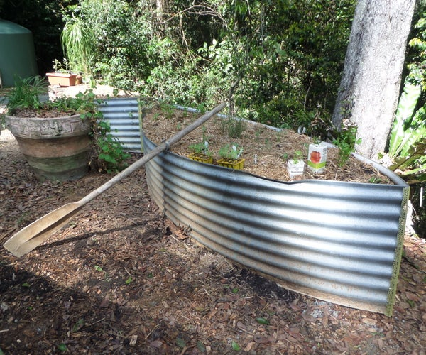 Vegetable Gardens From Old Water Tank