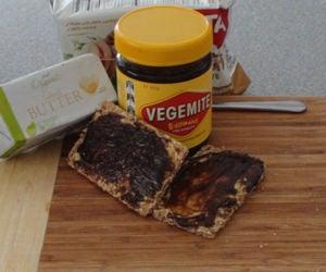 Iconic Australian Butter and Vegemite Cracker