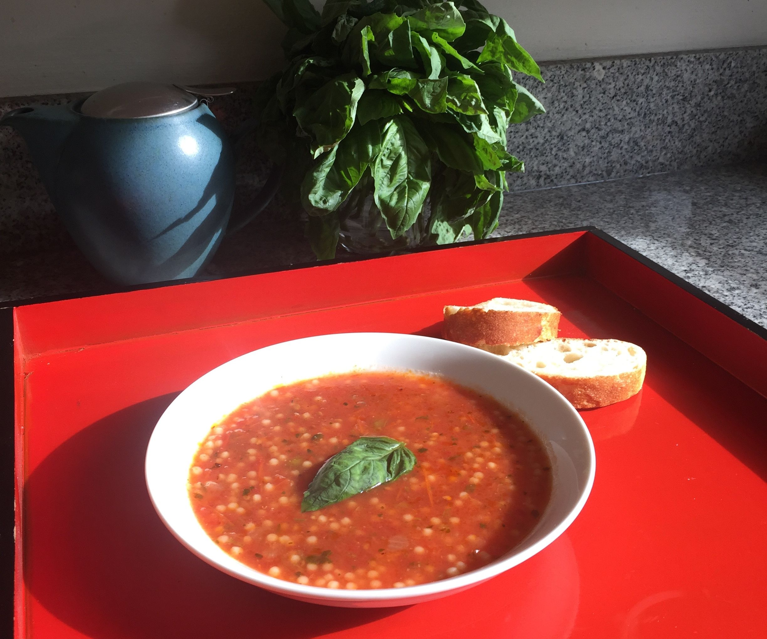Tomato Soup from Salsa Hack