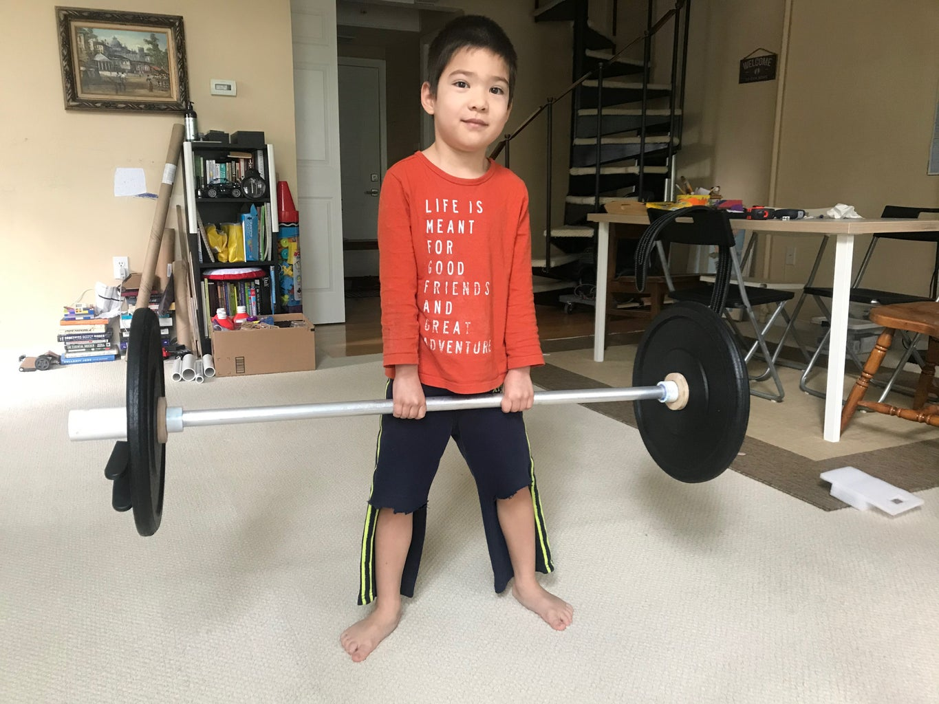 Kids Olympic Weightlifting Bar