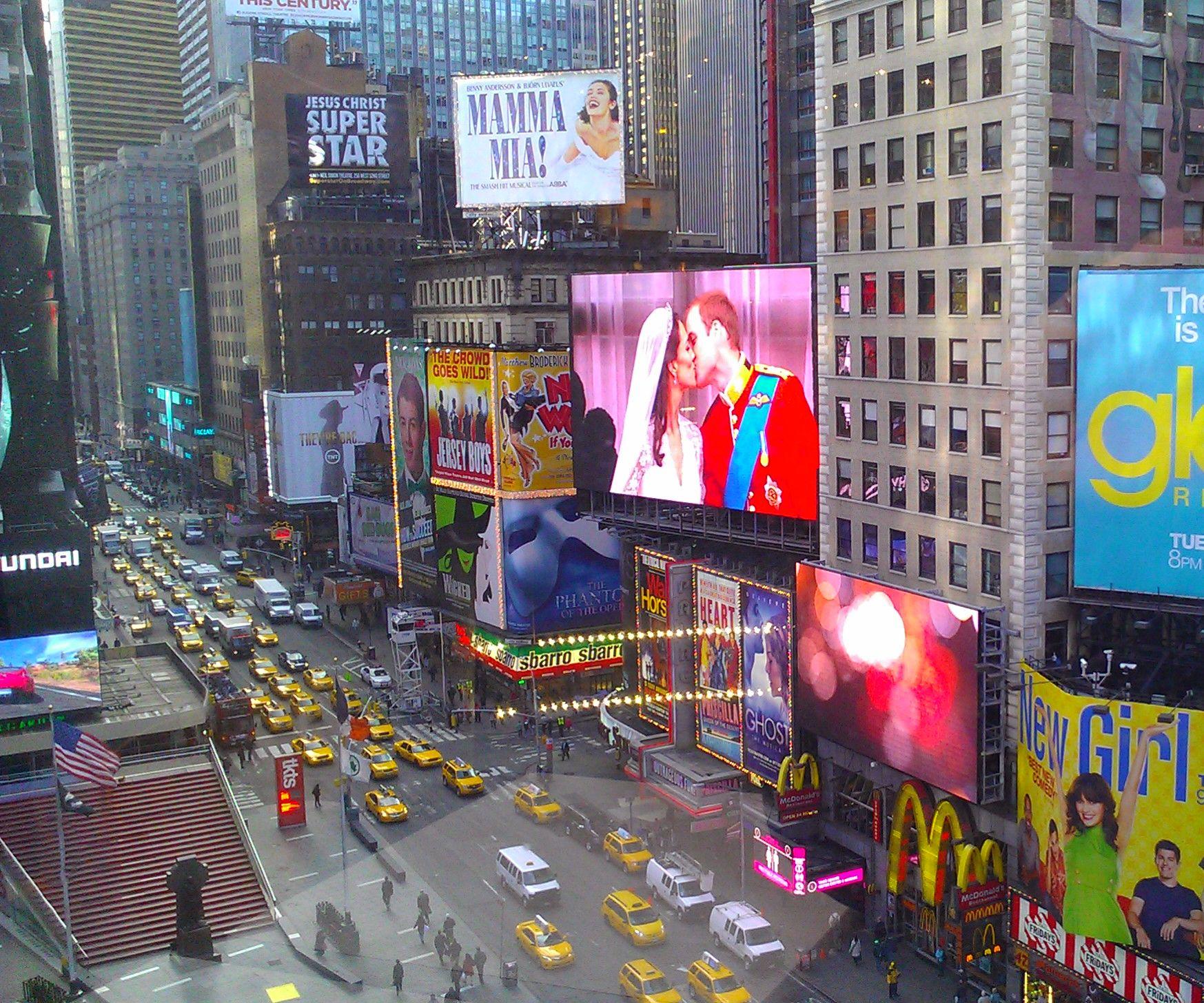 Times Square in your living room!