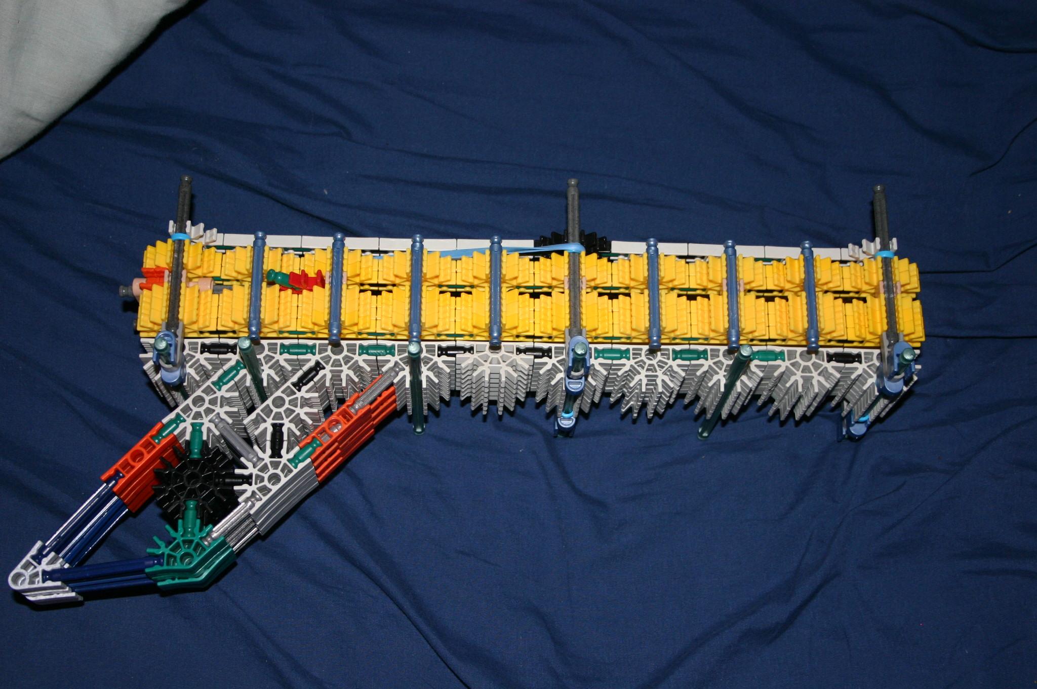 K'nex Shrapnel/Splodie Launcher