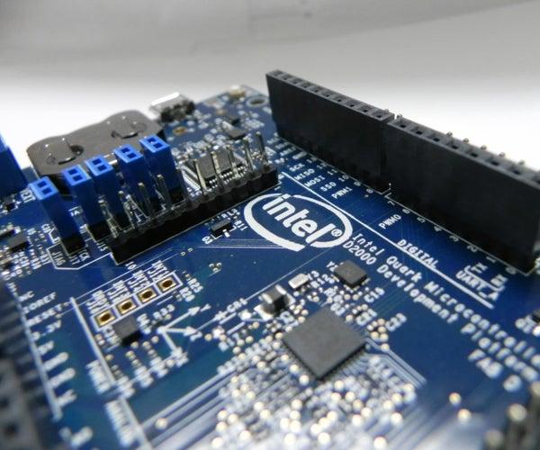 Blink LED Test on Intel Quark D2000 Development Board