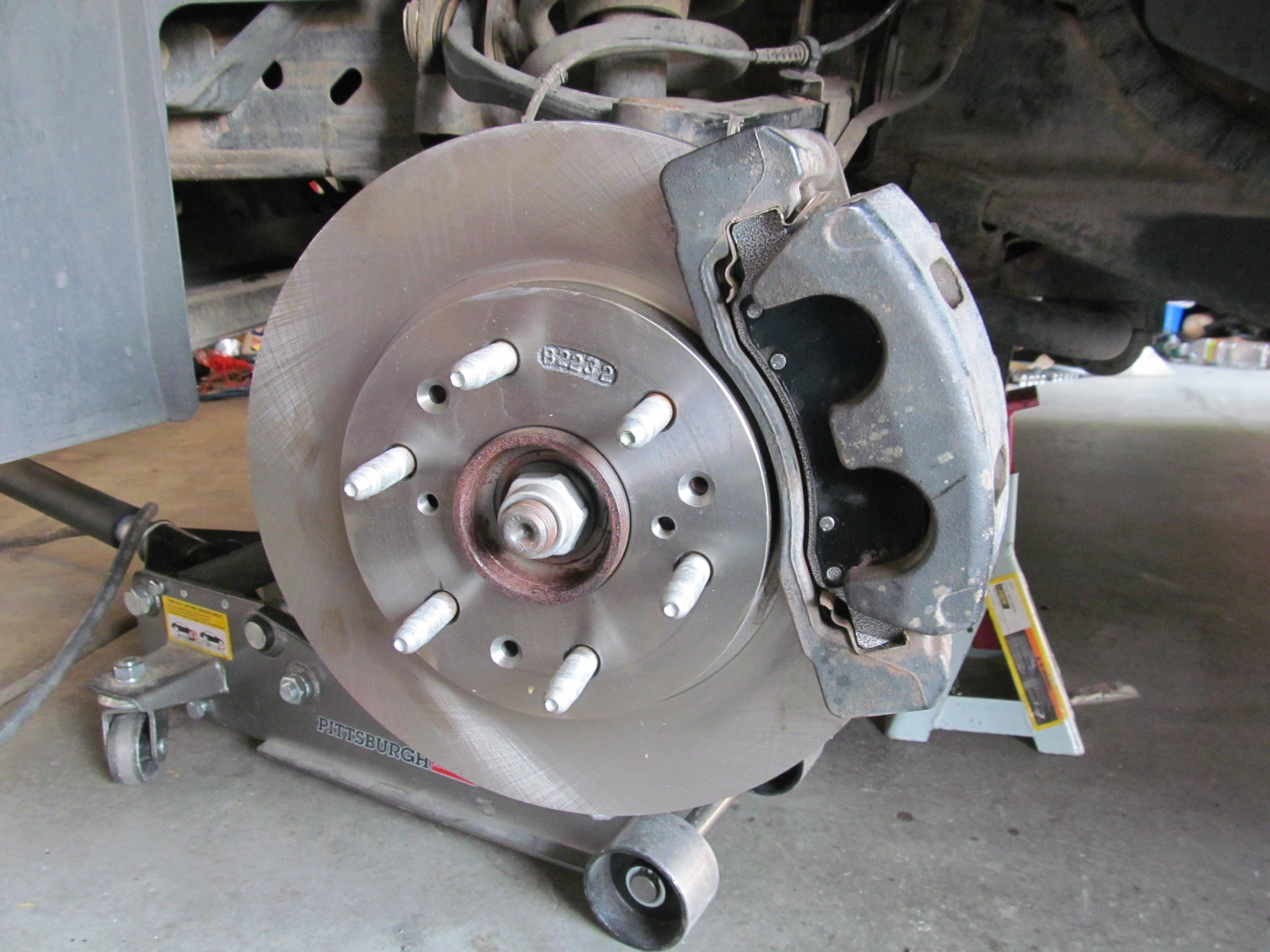 Get rid of steering wheel shake when braking.