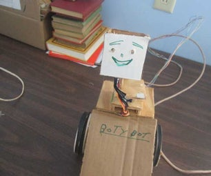 Adding a Face and Covers to Your Robot 