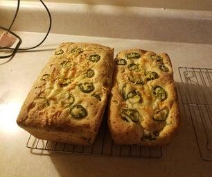墨西哥胡椒奶酪面包