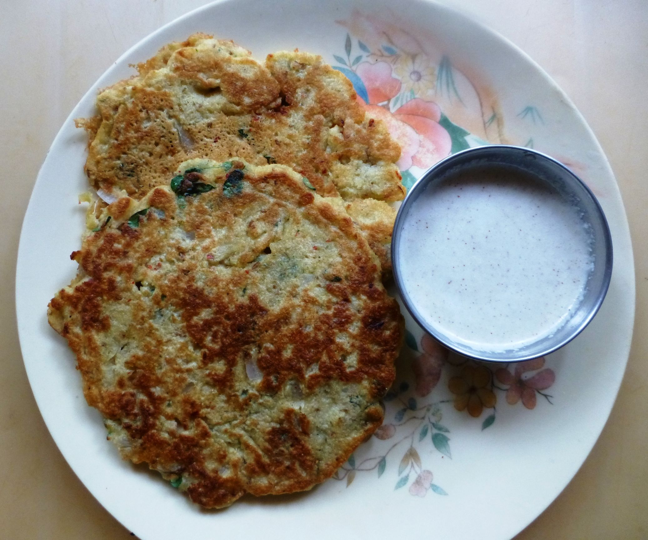 Adai With Mixed Lentils