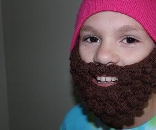 DIY Halloween Accessory:  Crochet a Bobble Beard!