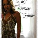 Easy Summer Scarf Top