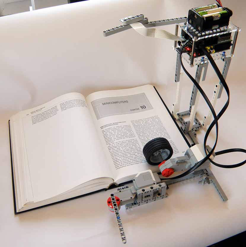 BrickPi Bookreader: Digitize Books With Mindstorms and Raspberry Pi