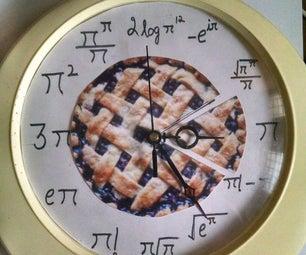 Pi/Pie Clock - Pi Day