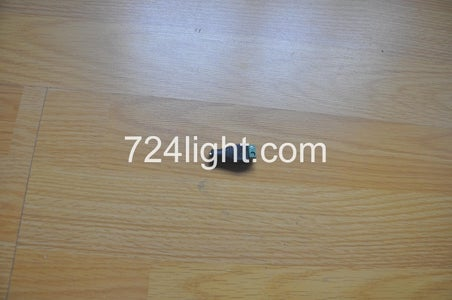 Connect Single Color Led Strip With Adapter Power Supply