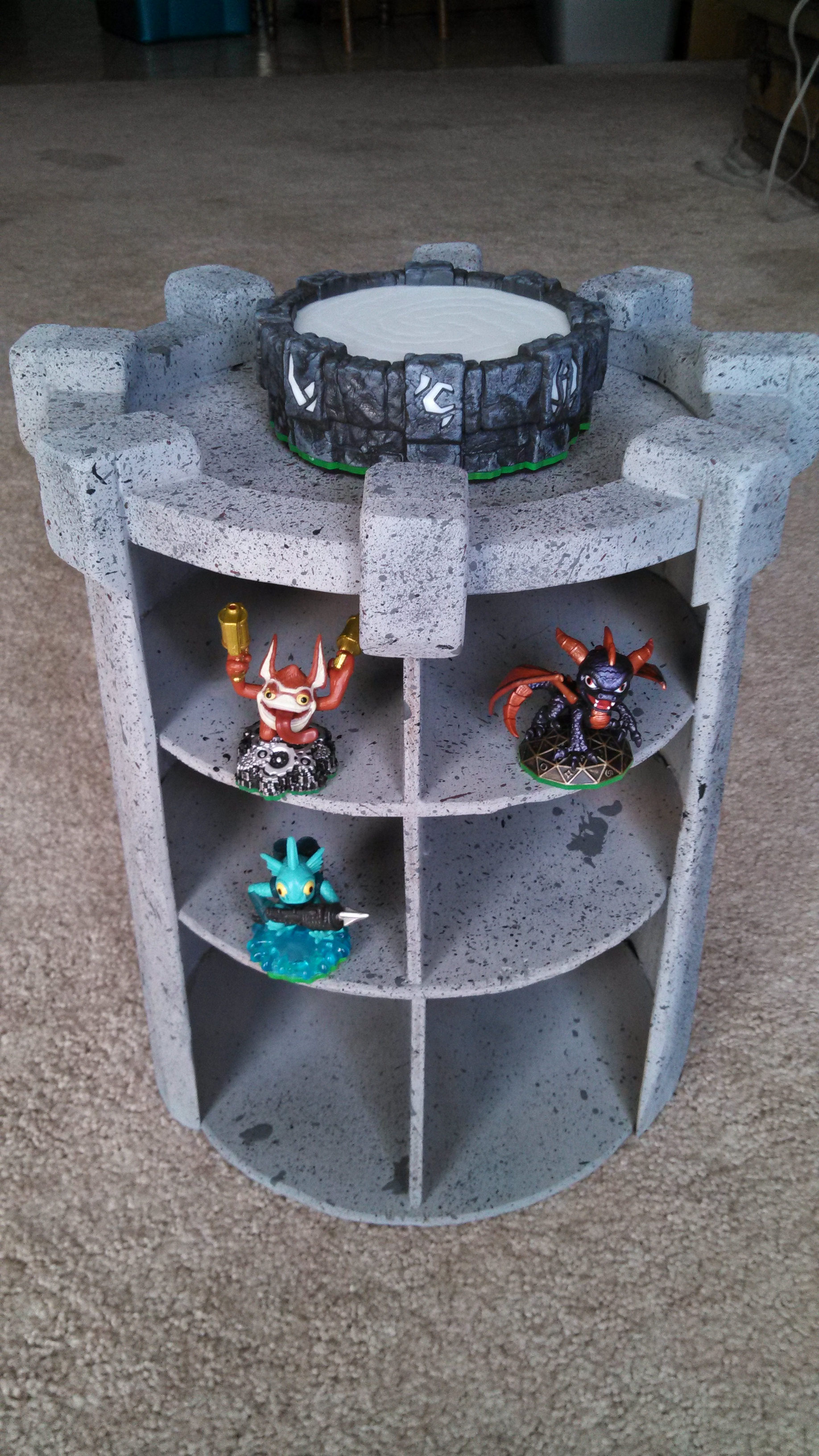 Skylanders Storage Tower for less than $20