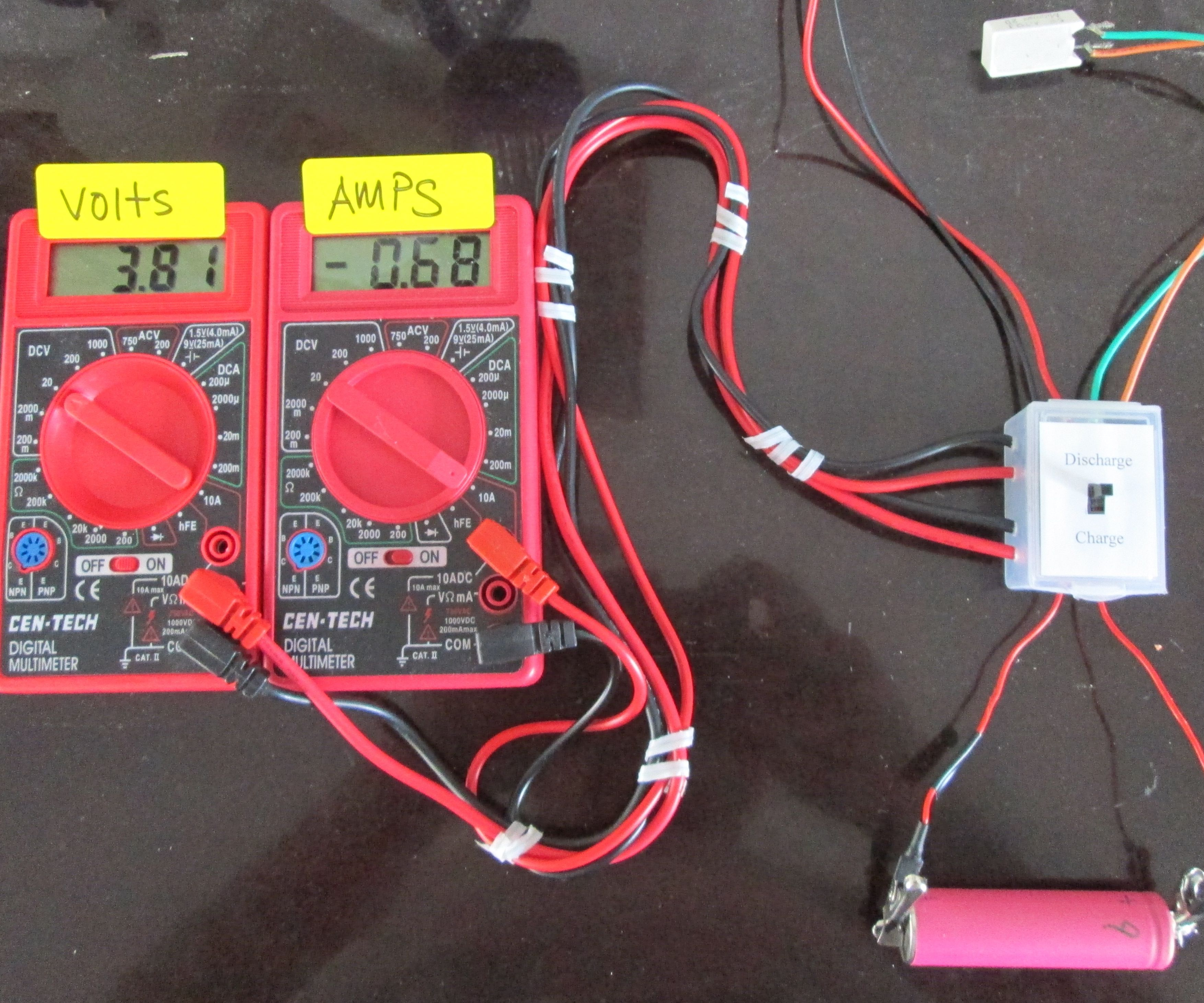Battery Tester and Charger